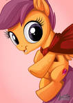 Scootaloo Caped Crusader
