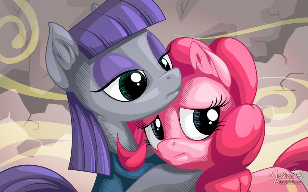 Maud and Pinkie
