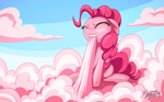 Pinkie Cotton Candy Clouds