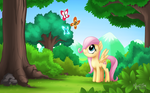 Young Fluttershy - Filled with Wonders