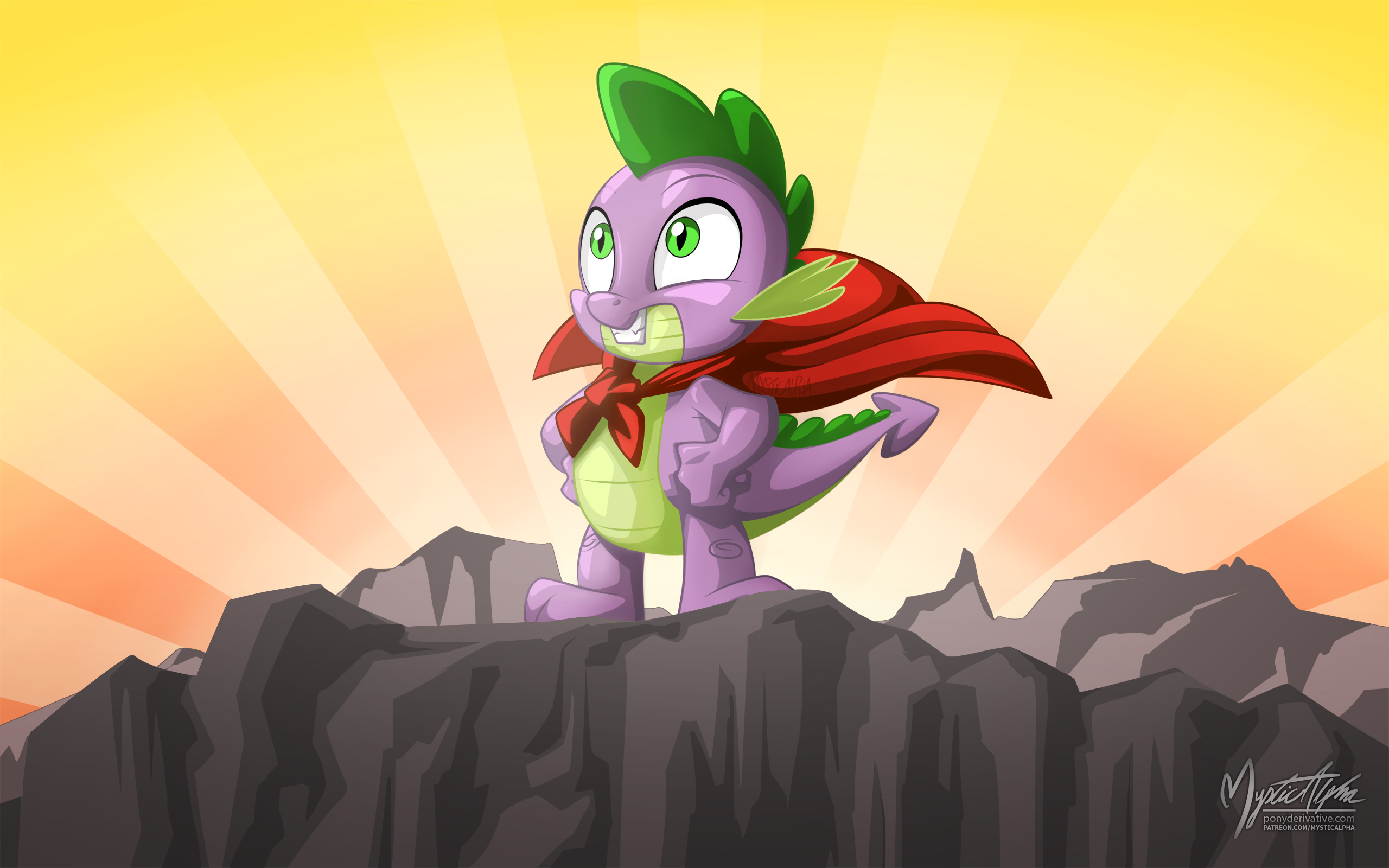 spike_the_hero_by_mysticalpha-d9z7p6h.jp