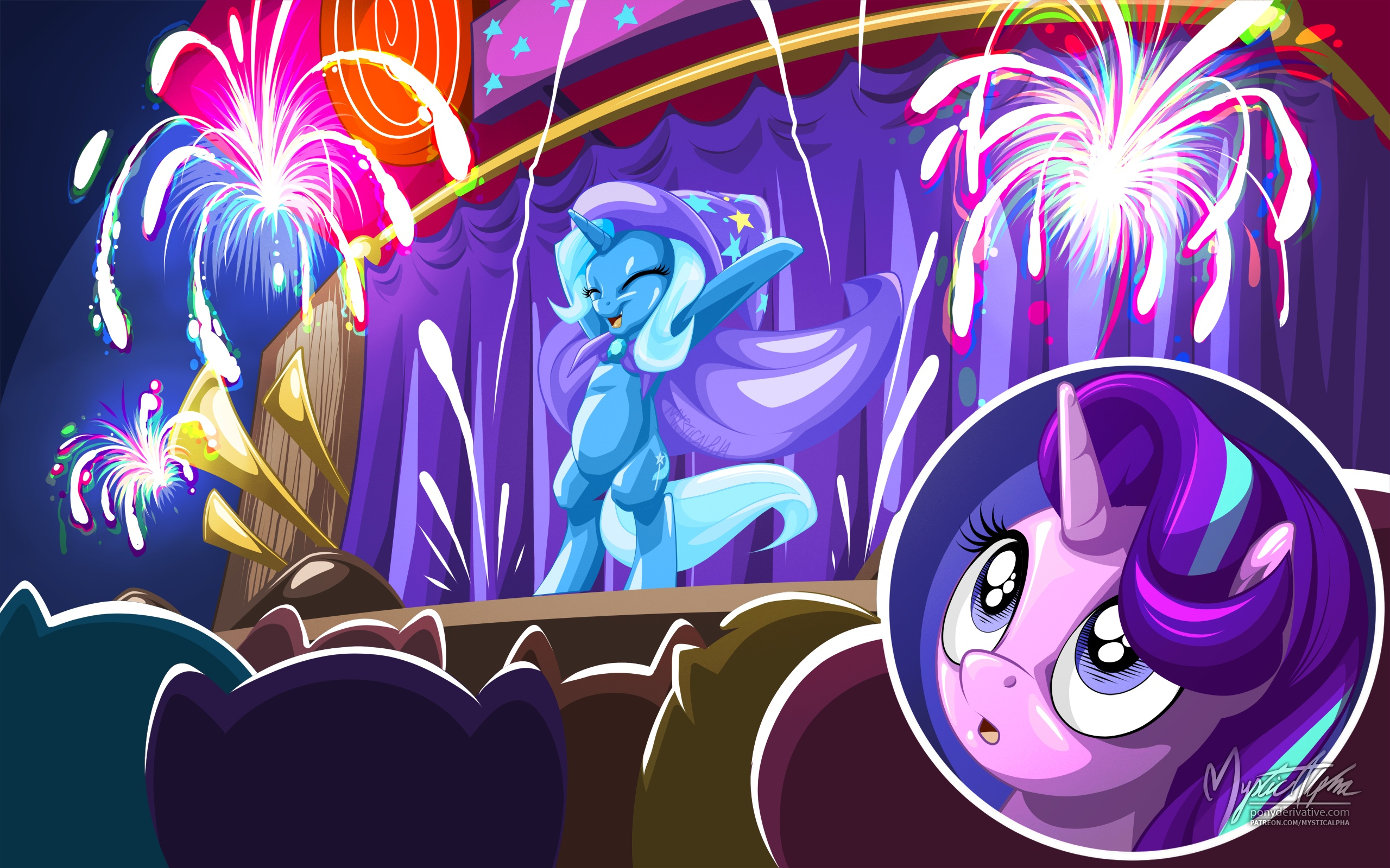 Trixie's Show with Starlight