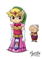 Link in a Zelda Dress by mysticalpha