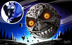 Nightmare Moon on Majora's Mask