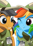 Rainbow Dash and Quibble Pants