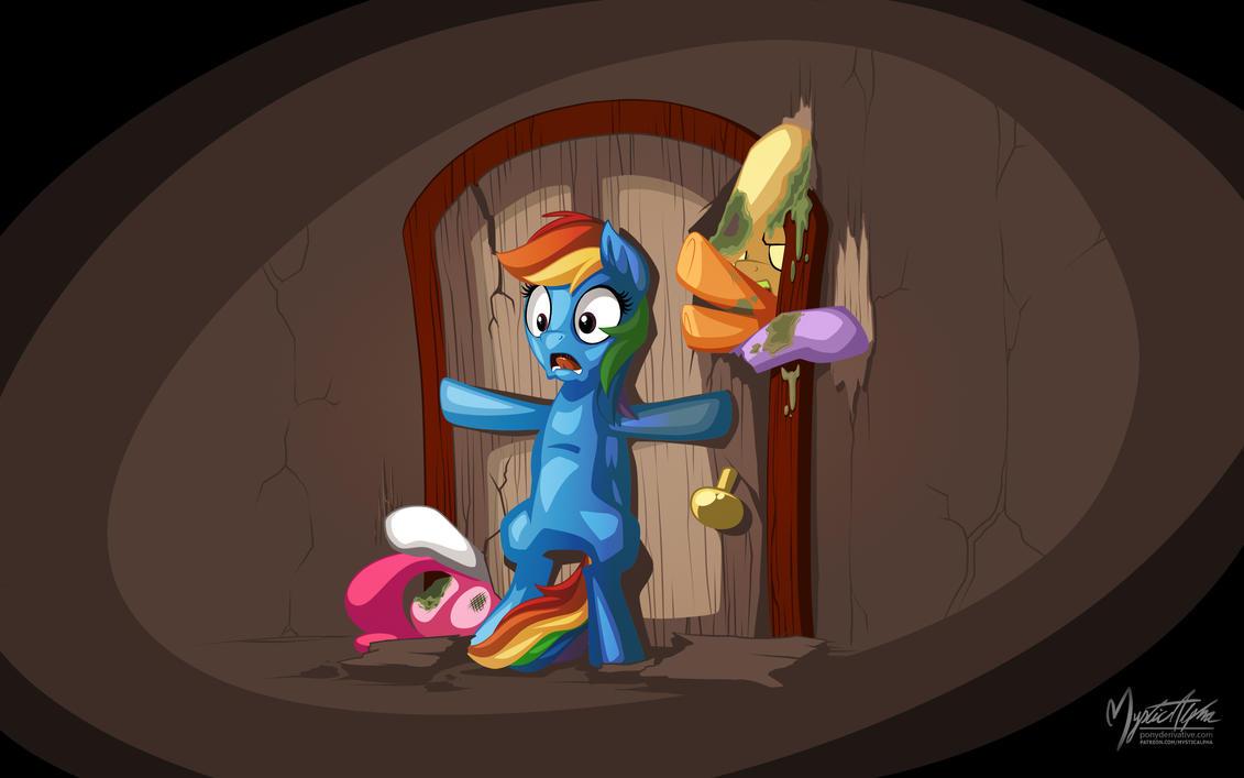 Zom-ponies? by mysticalpha