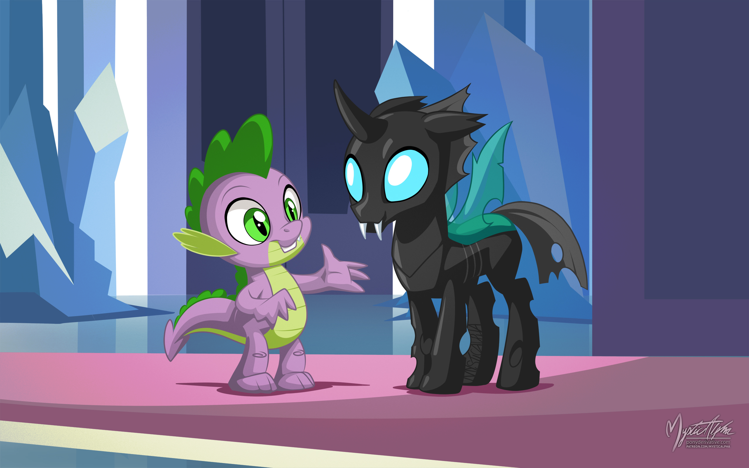 Spike and Thorax