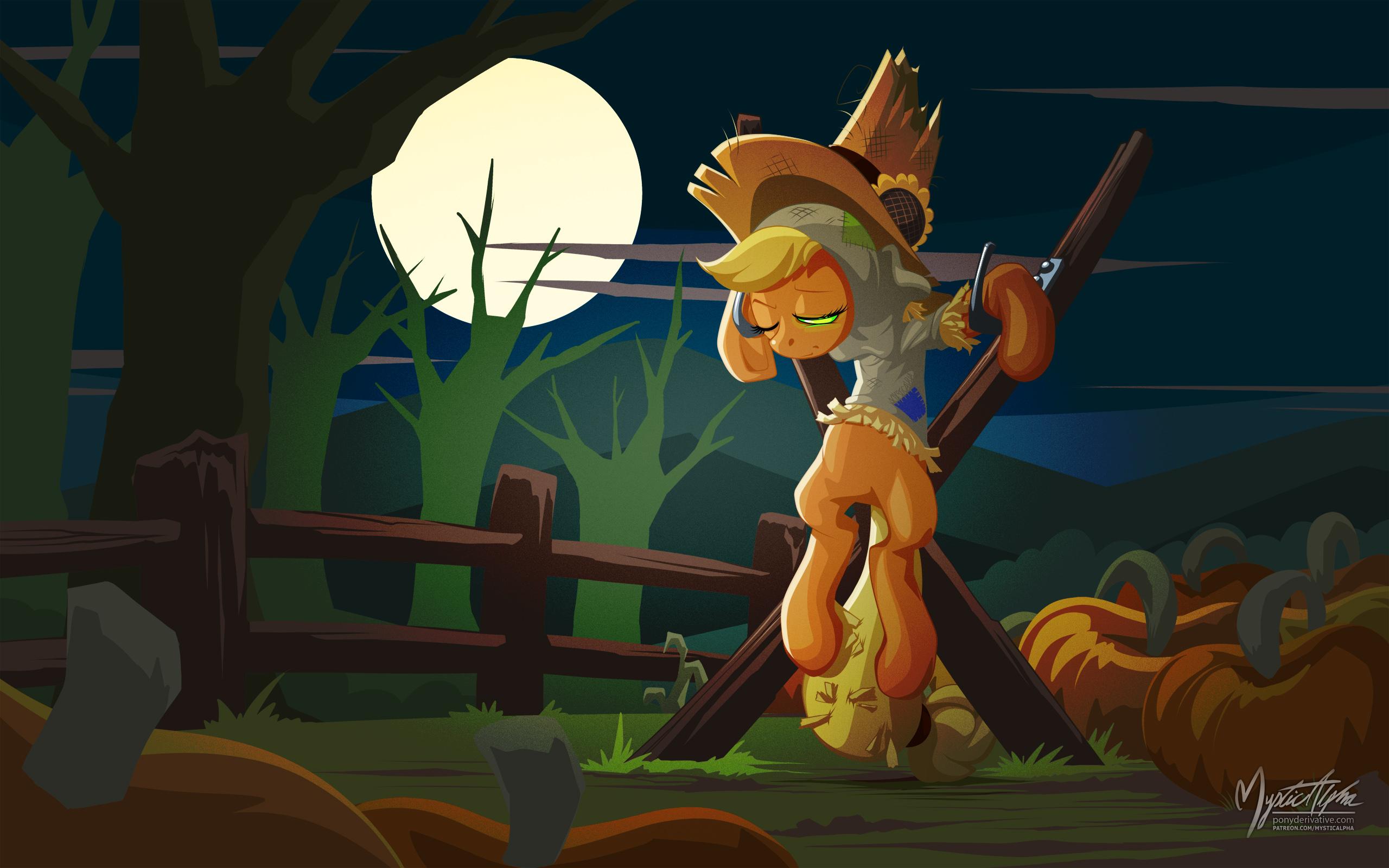 Applejack Scarecrow