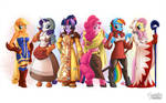Mane 6 as FF Tactics