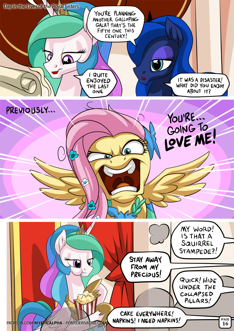Day in the Lives of the Royal Sisters 16 by mysticalpha