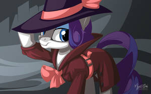 Detective Rarity by mysticalpha