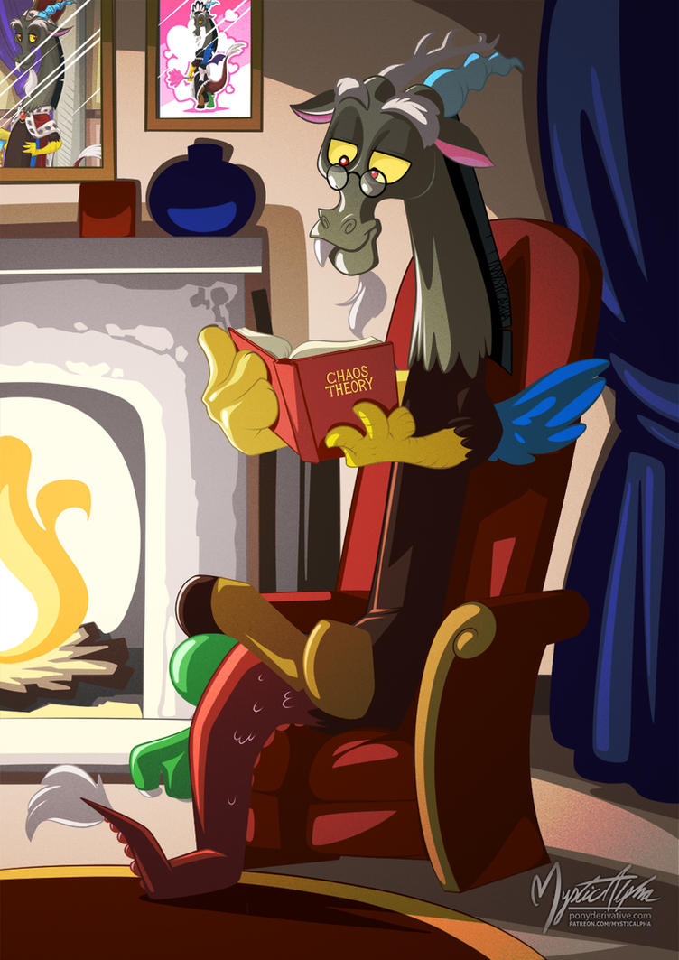 Discord Reads Chaos Theory by mysticalpha