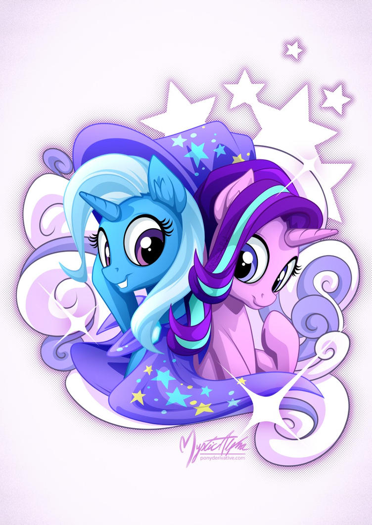 starlight_and_trixie_by_mysticalpha-dbtm