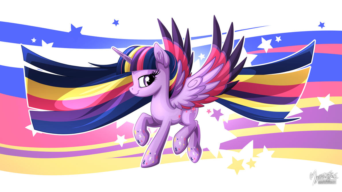Friendship Infused Twilight by mysticalpha