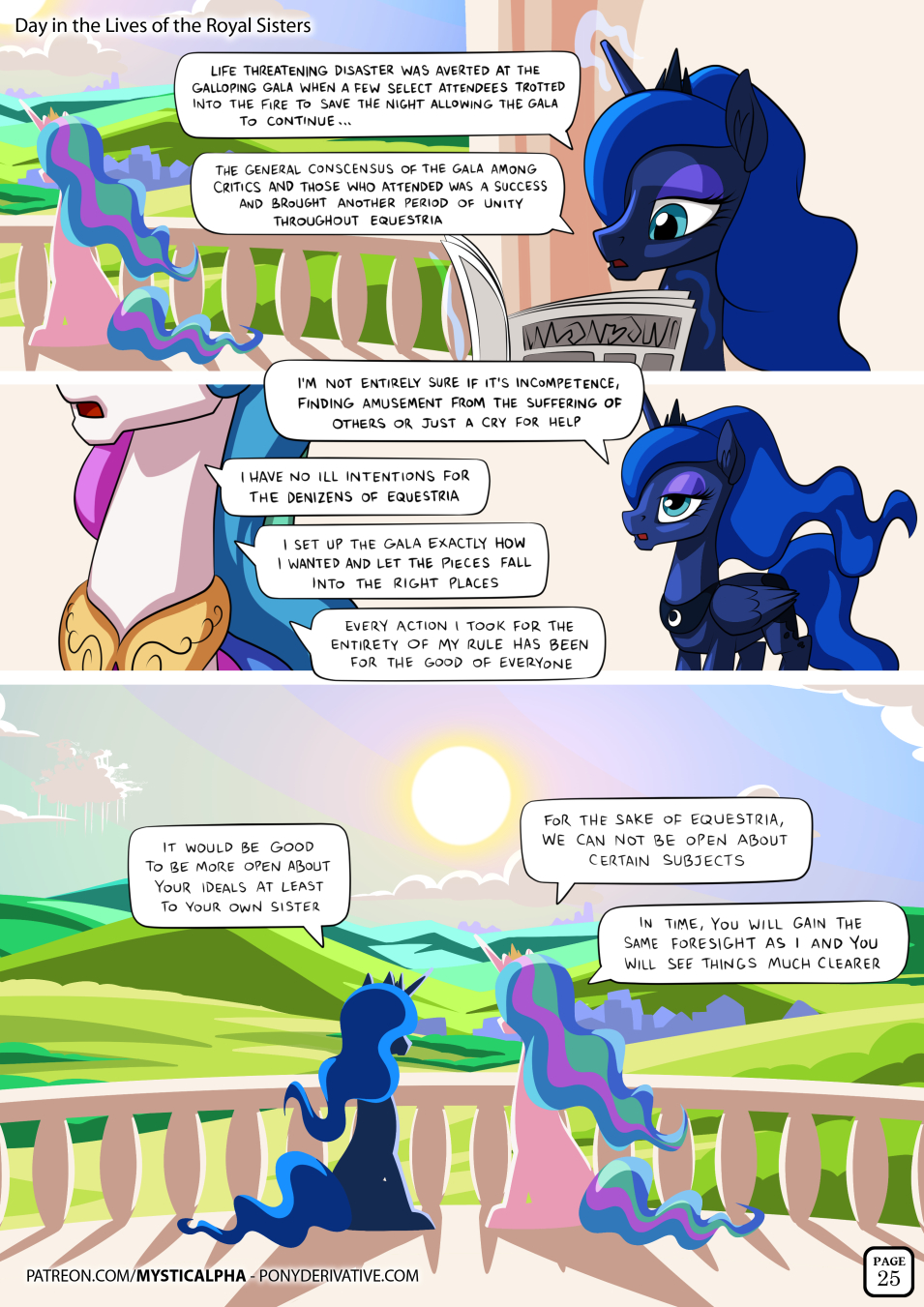 Day in the Lives of the Royal Sisters 25