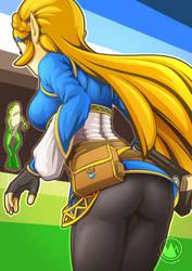 Zelda [BOTW] by mysticalpha