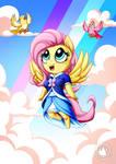 Fluttershy is Smol by mysticalpha