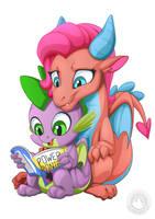 <b>Mina And Spike</b><br><i>mysticalpha</i>