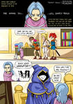 Chrono Trigger Comic - Prophet Janus by mysticalpha