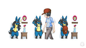 Lucario - Hat Spike