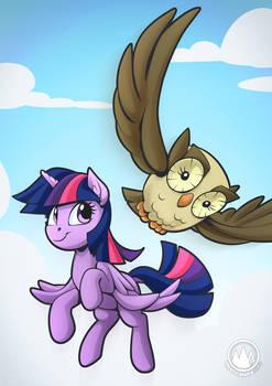 Twilight and Owlowiscious