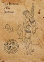Tronzal Thoraksson of Clan Daardendrien by SilkyNoire