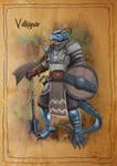 Valkynar - Dragonborn Cleric