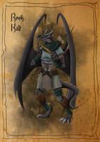 Reek - Winged Kobold by SilkyNoire