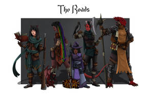 The Roads - DnD Party by SilkyNoire