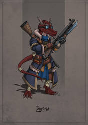 Zurkrid - Kobold Artificer by SilkyNoire