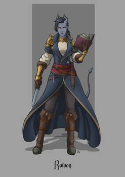 Rowen - Tiefling Wizard