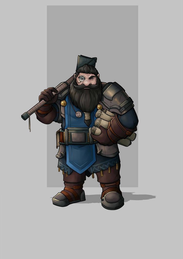 Tezin Pavlock - Dwarf Cleric