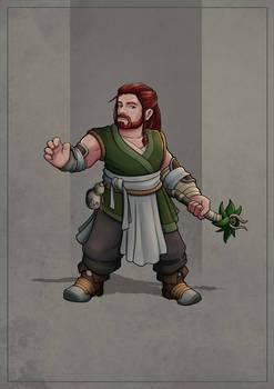 Cheeri - Dwarf Monk Druid
