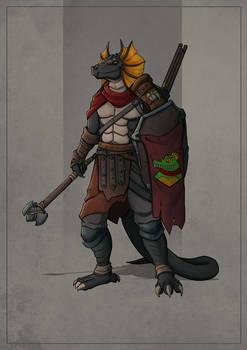 Litrix - Lizardman Warrior