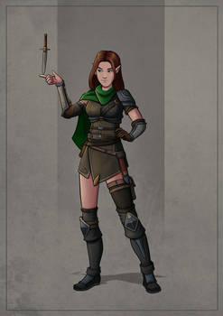 Sariel - Half-elf Rogue
