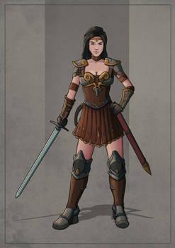 Nathalia - Human Warrior