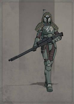 Verse Tille - Mandalorian Sniper