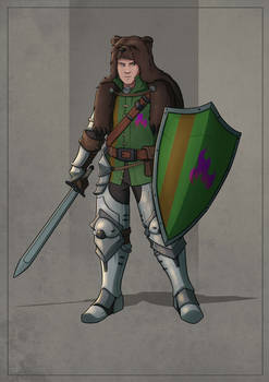 Sir Alderic Wymond the Younger - Human Fighter