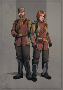 Commander Robin - Male/Female Version