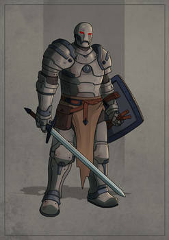 Warforged Fighter