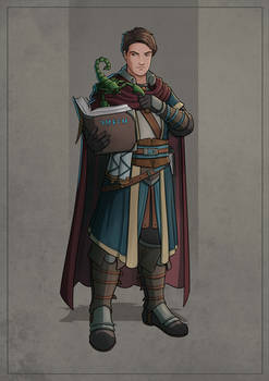 Alister - Human Wizard