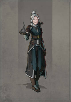 Rainith - Elf Warlock