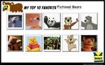 My Top 10 Favorite Bears