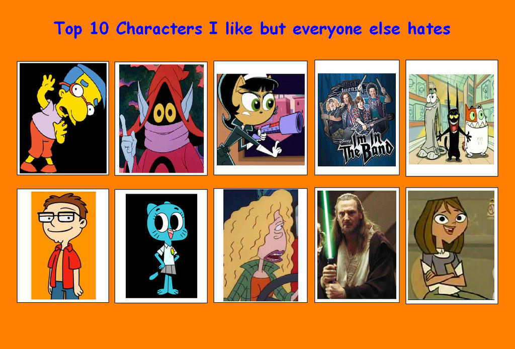 Anime Characters Everyone Hates : Characters i like but everyone else hates by