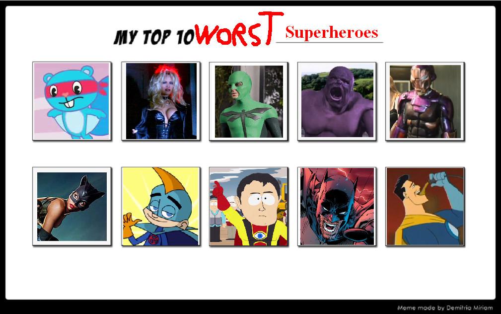 Stupid super hero movie