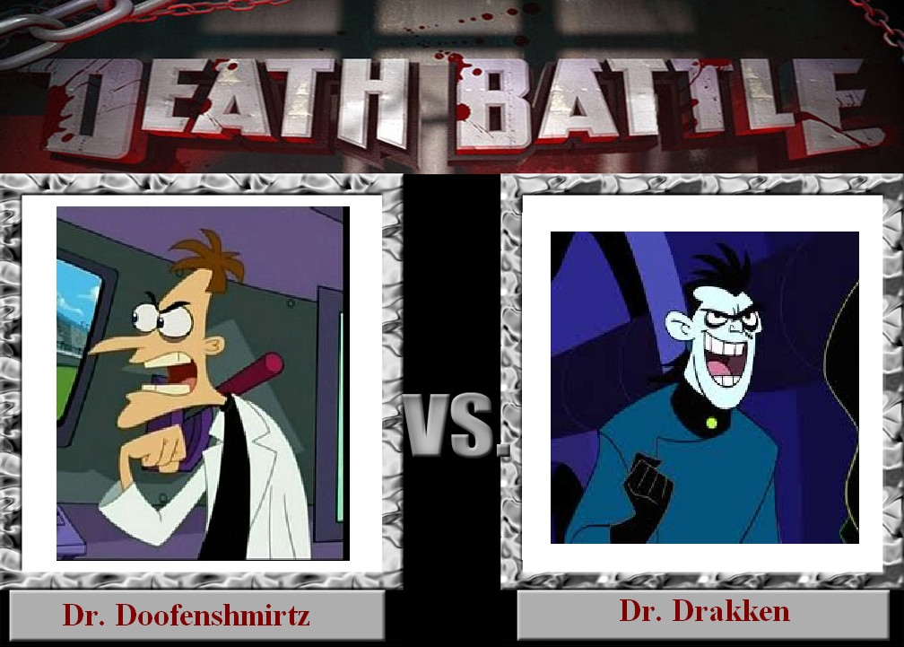 death_battle__doofenshmirtz_vs_drakken_by_sithvampiremaster27 d67s63s death battle doofenshmirtz vs drakken by sithvampiremaster27 on