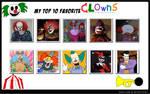 My Top 10 Favorite Clowns