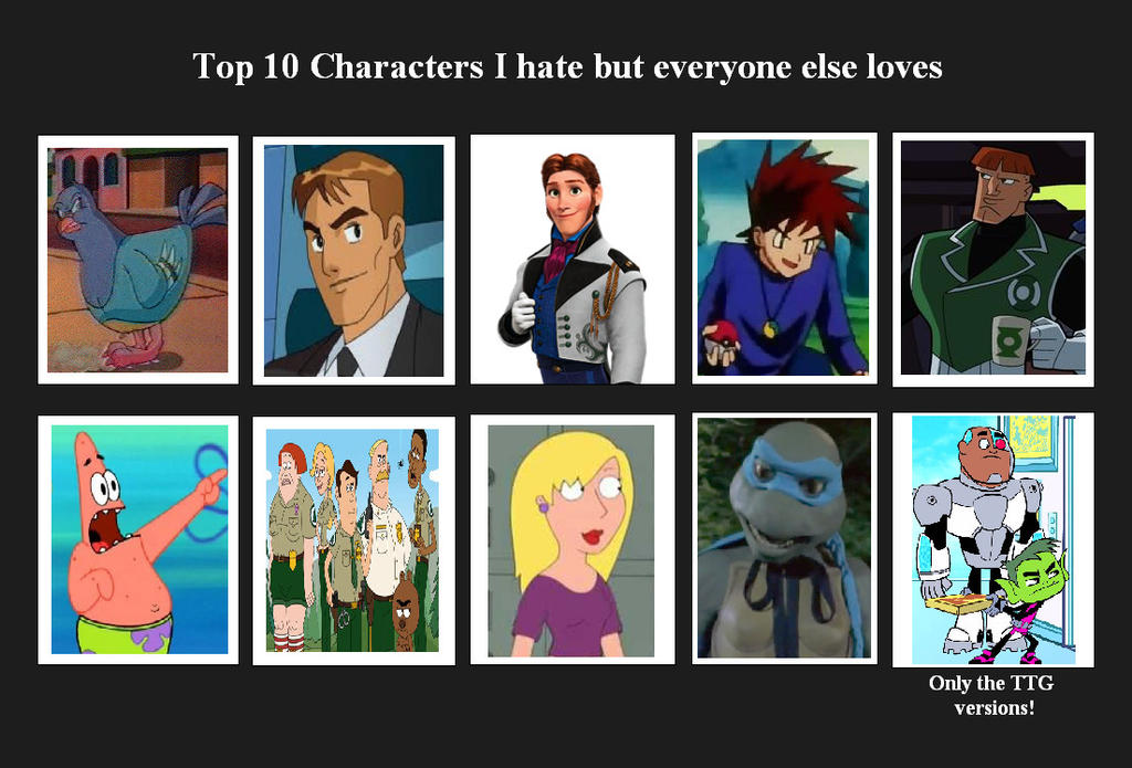 Anime Characters Everyone Hates : Top characters i hate but everyone loves by