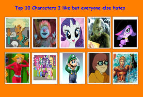 10 Characters I like but Everyone else Hates 04 by SithVampireMaster27