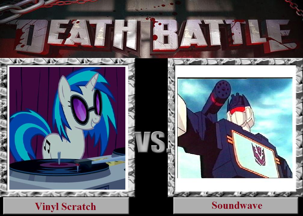 Death Battle Vinyl Scratch Vs Soundwave By